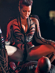 Ebony celebrity Janet Jackson nude and..