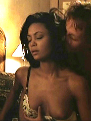 Ebony celebrity Thandie Newton nude and..