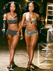 Ebony celebrity Lauren London nude and..