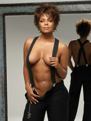 Ebony celebrity Janet Jackson nude and oops pics